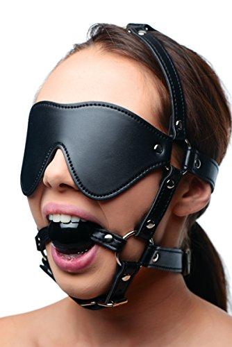 XR Augenmaske mit Ballknebel