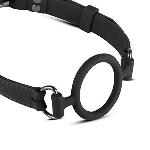 Easytoys Silikon-Ringknebel schwarz