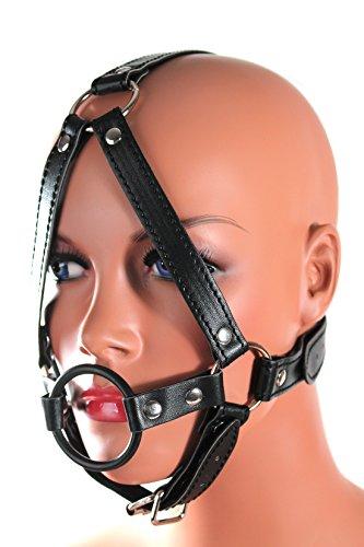 aierwish Bondage-Harness mit Ringknebel 40mm