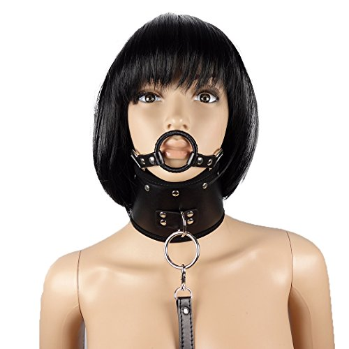 SEE-X Halsband mit Mundknebel