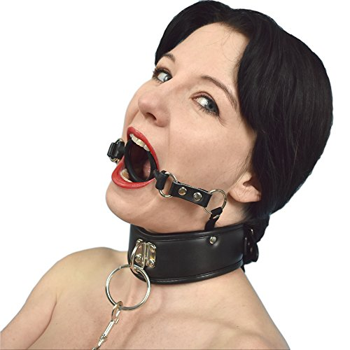 Honeylust Halsband mit Mundknebel und Leine